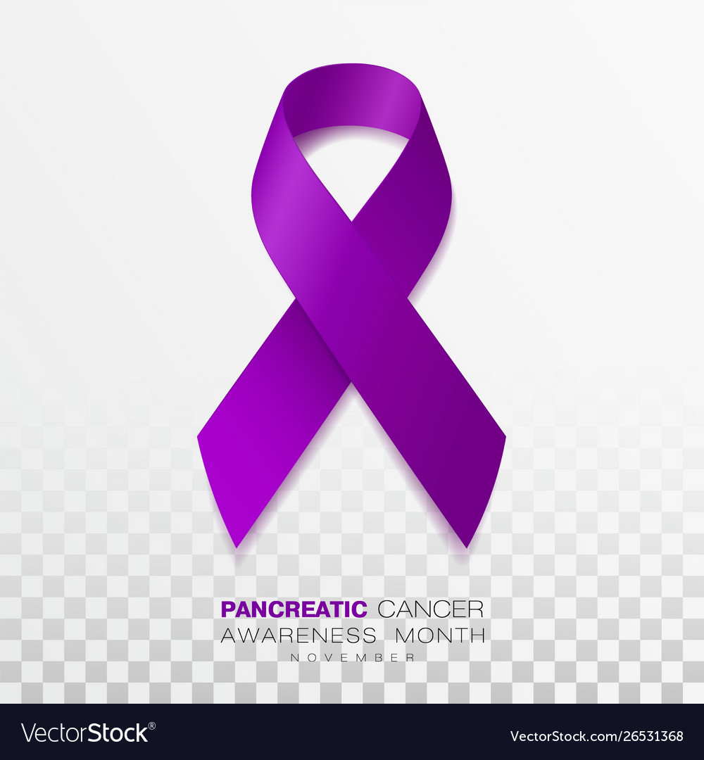 pancreatic cancer ribbon color
