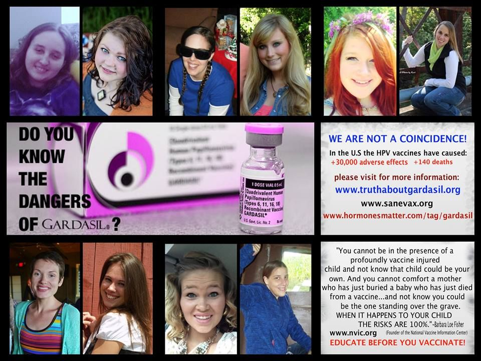 hpv vaccine side effects female