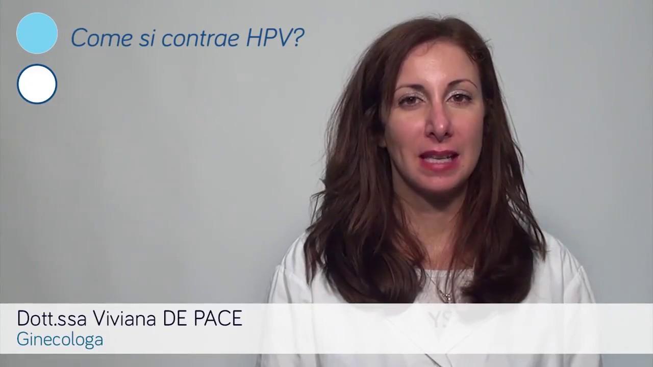 hpv virus come si contrae