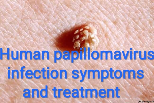 human papillomavirus infection bumps)