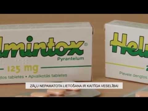 Helmintox 125 mg posologie.