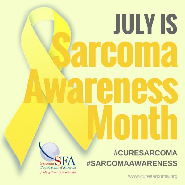 sarcoma cancer awareness week 2020)