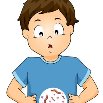simptome viermi la copii sub un an