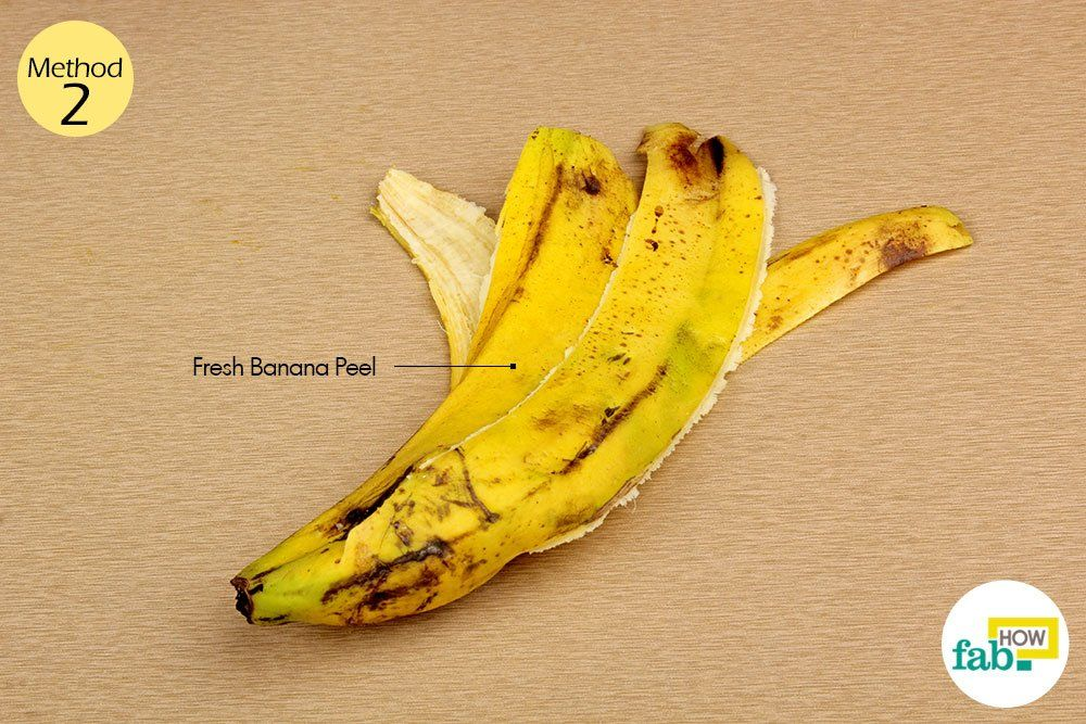 warts on hands banana peel