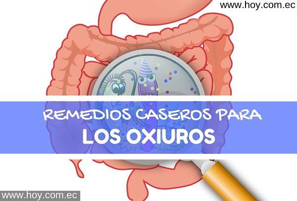 tratamiento para los parasitos oxiuros)