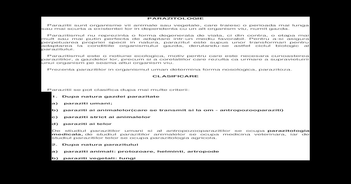 apărare eozinofilă împotriva paraziților)