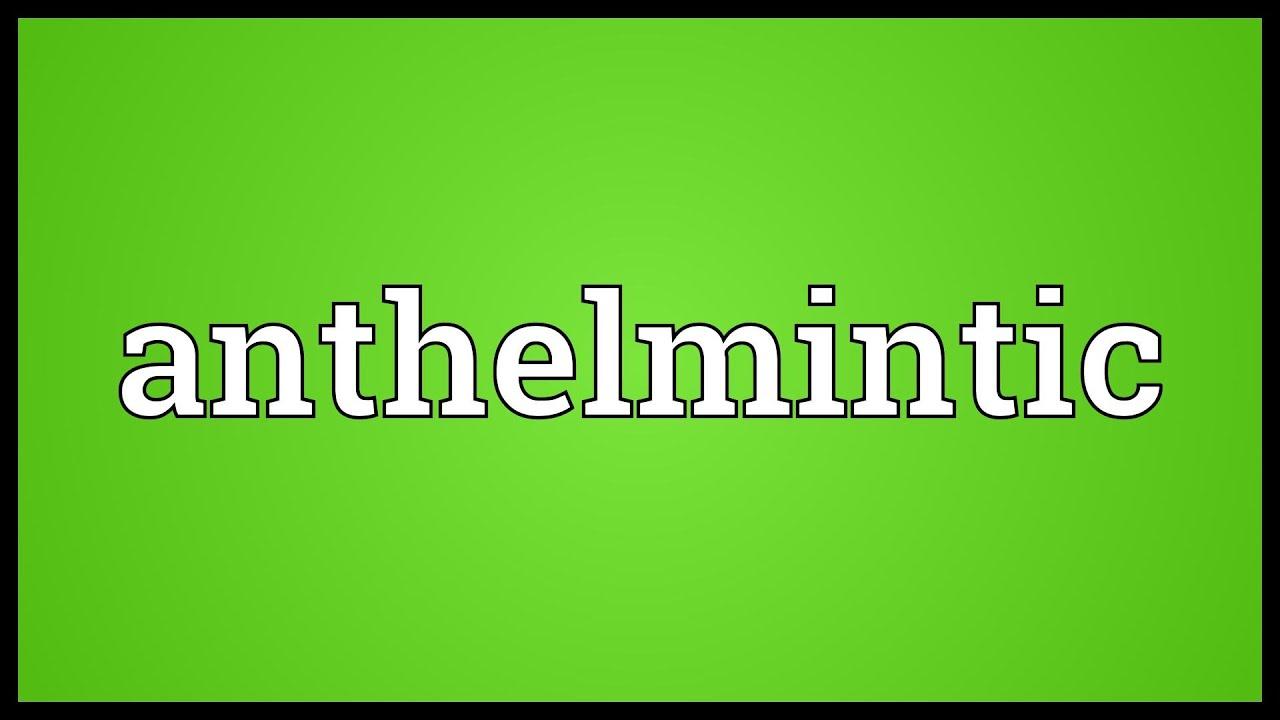 antihelmintic pentru copii sub 1 an