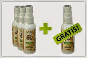 detoxifiere lichidă a zeolitului