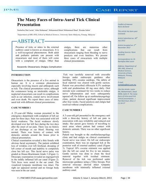 Enterobius vermicularis infestation