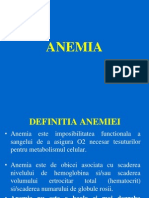 anemie in boli neoplazice