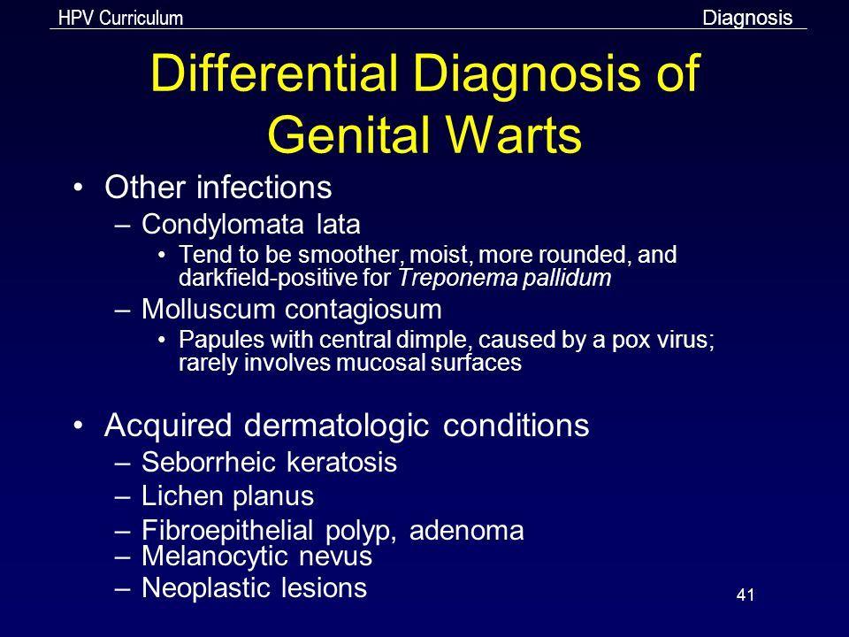 Hpv and genital warts symptoms