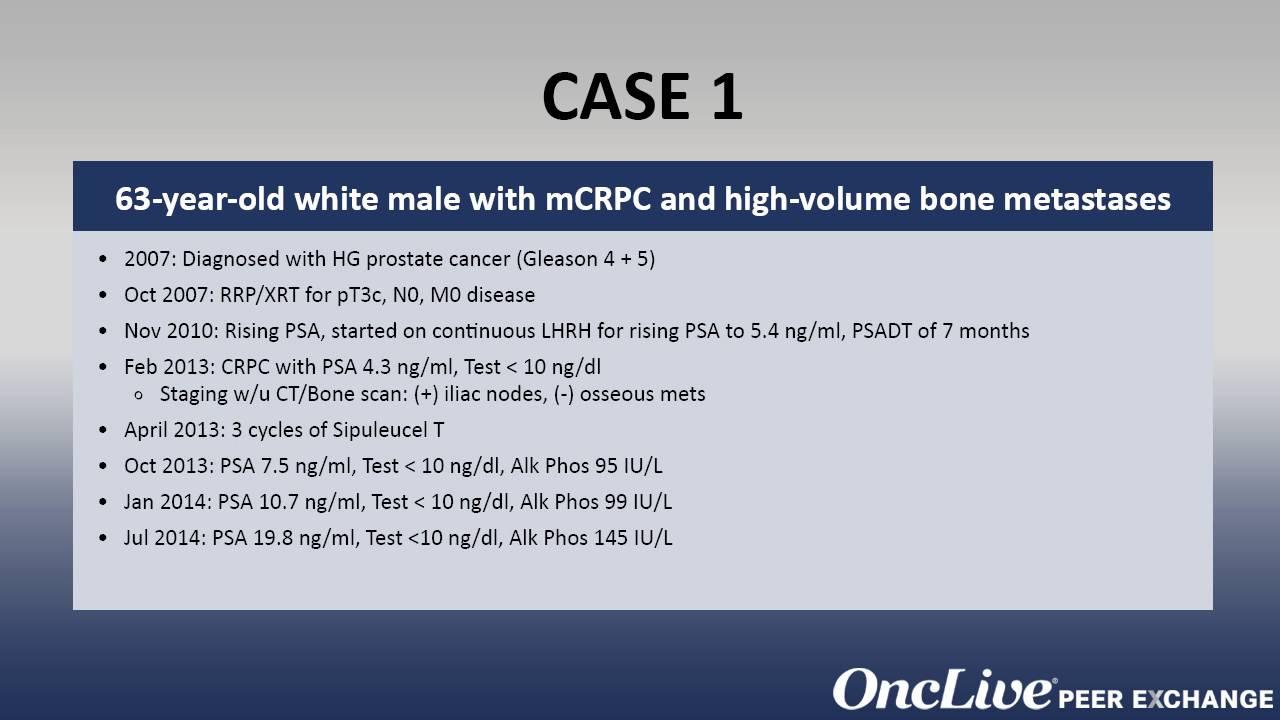 prostate cancer metastatic bone pain)