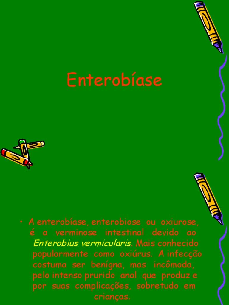 o que e oxiuros enterobiose))