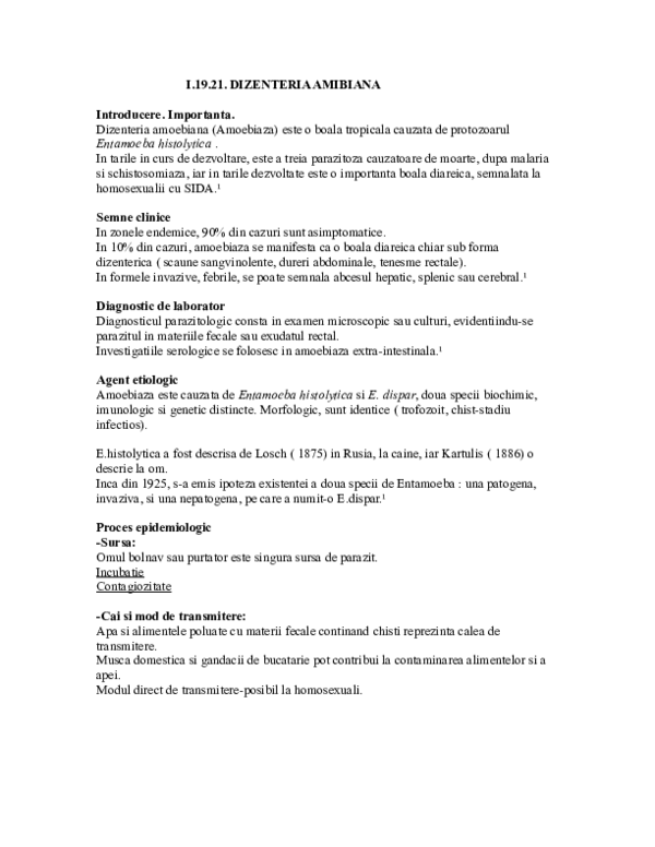 scaun opisthorhiasis modul de examinare)