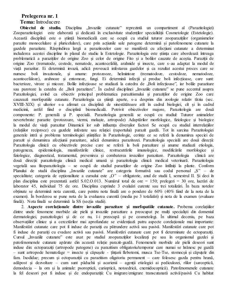 exemple de ectoparaziți)