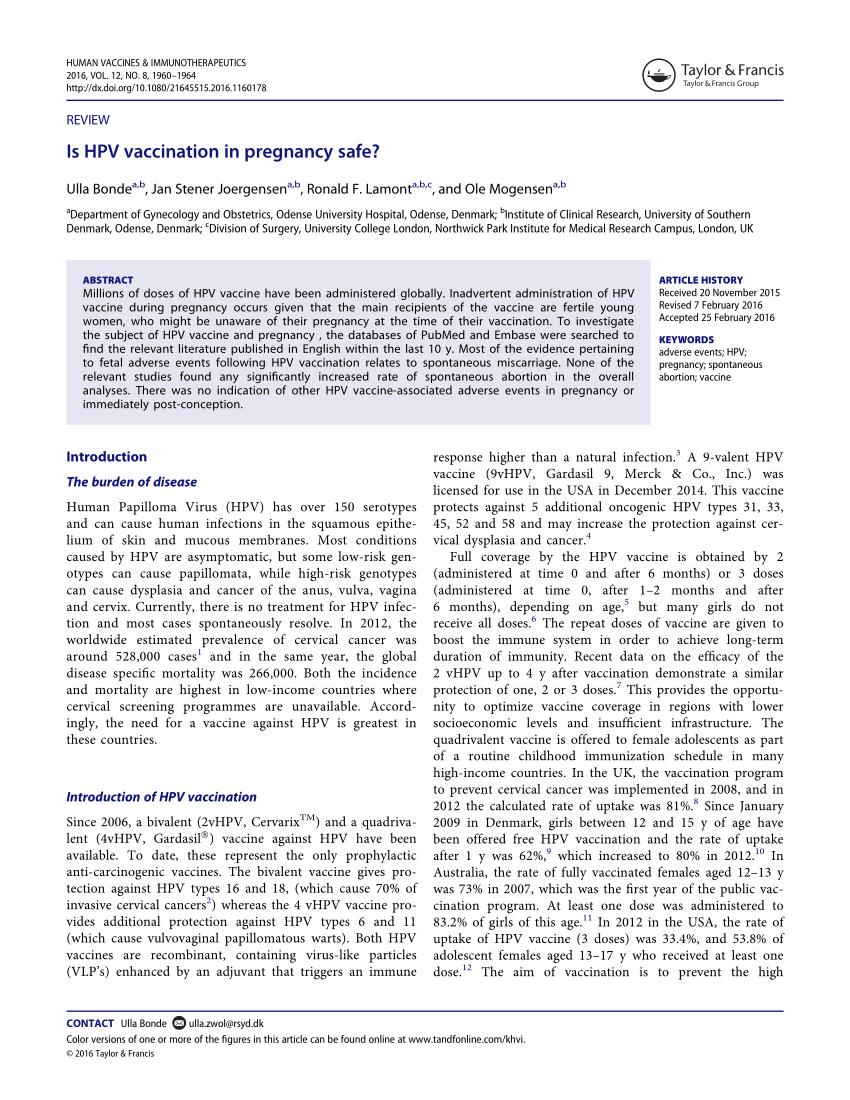 hpv vaccine pregnancy cancer de prostata estadio 4