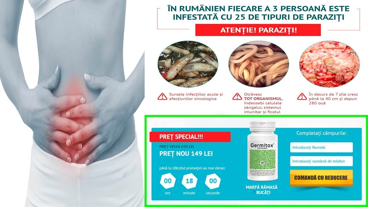 paraziți și tratamentul organelor interne)