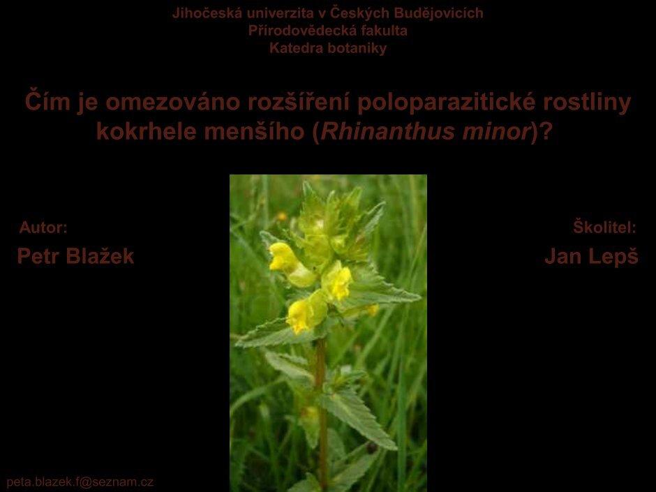 rostlinny parazit