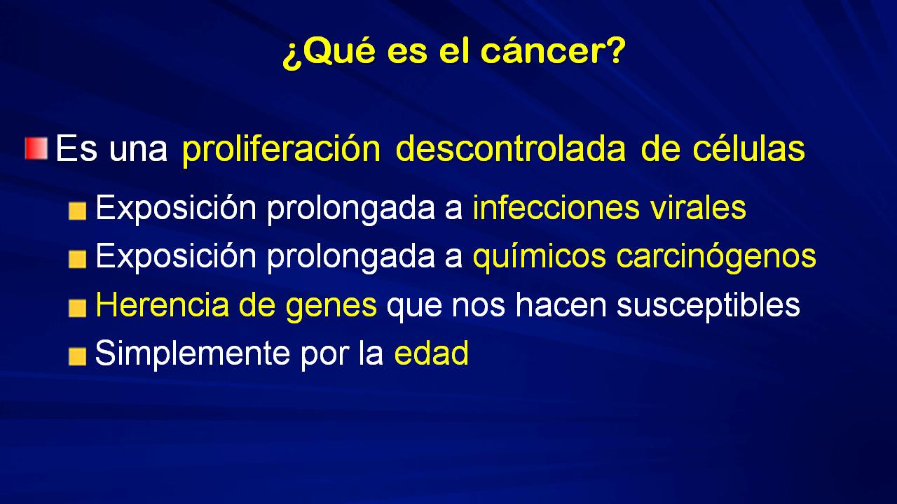 el cancer que es