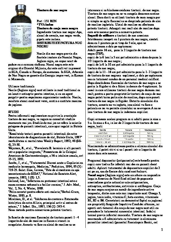 Cele mai bune medicamente naturiste pt. tratamentul paraziților intestinali   divastudio.ro