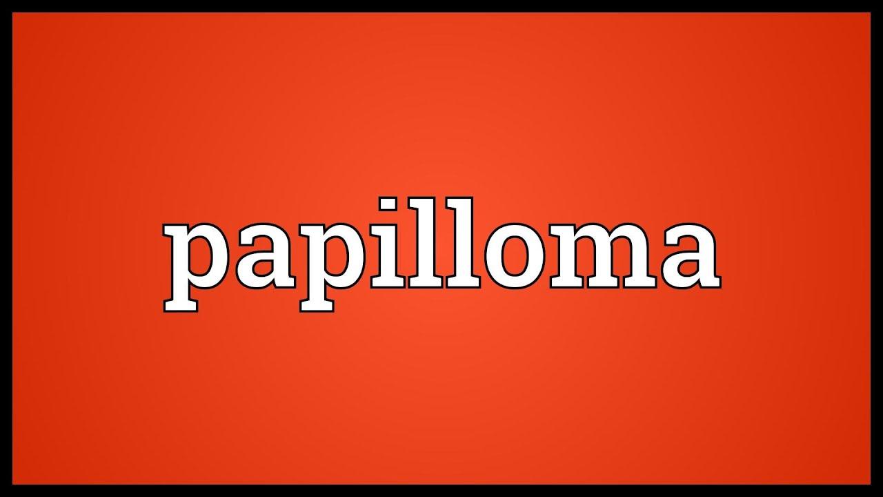 papilloma means in urdu)