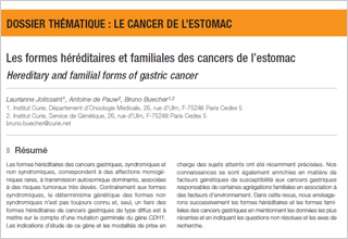 cancer gastrique familial