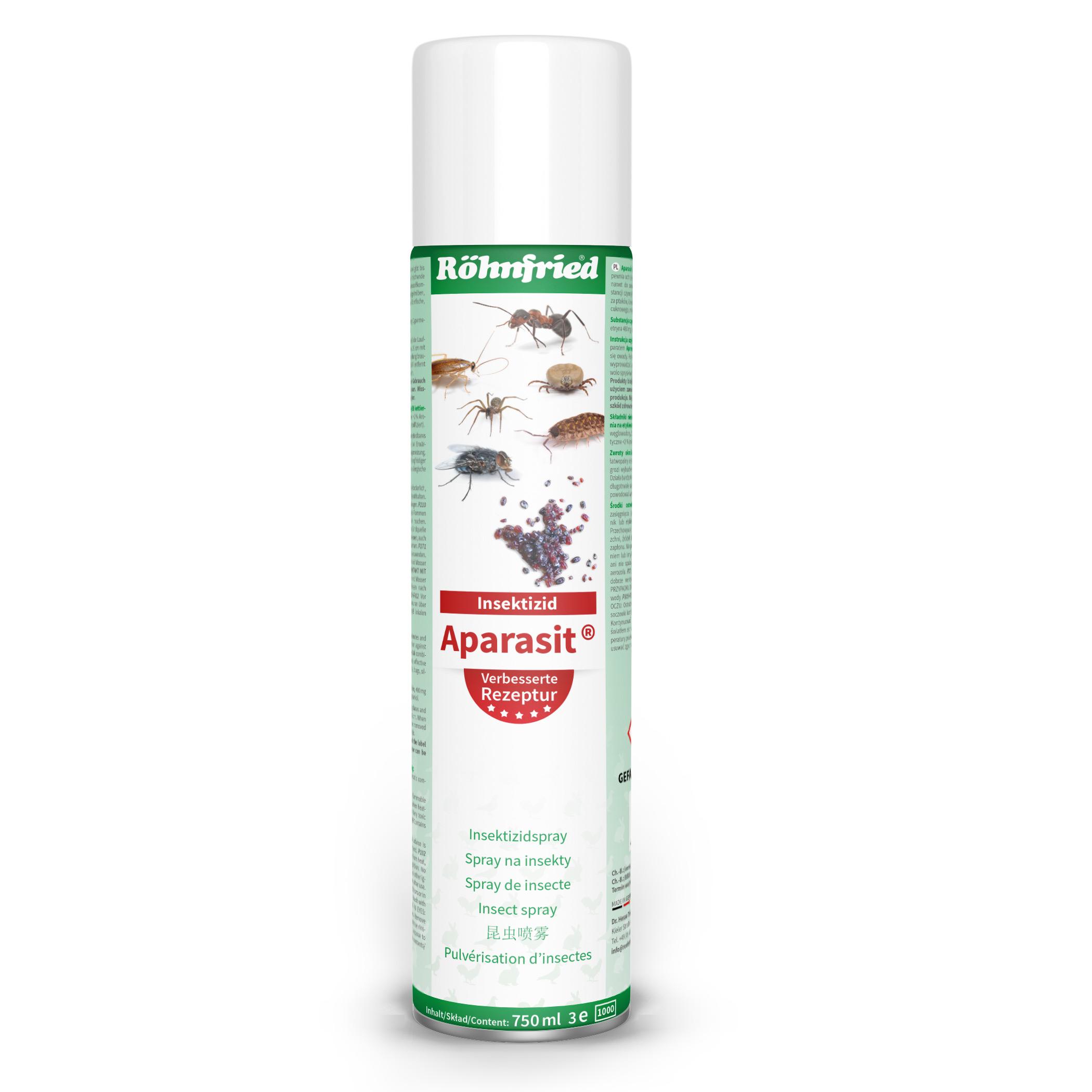 spray de parazit