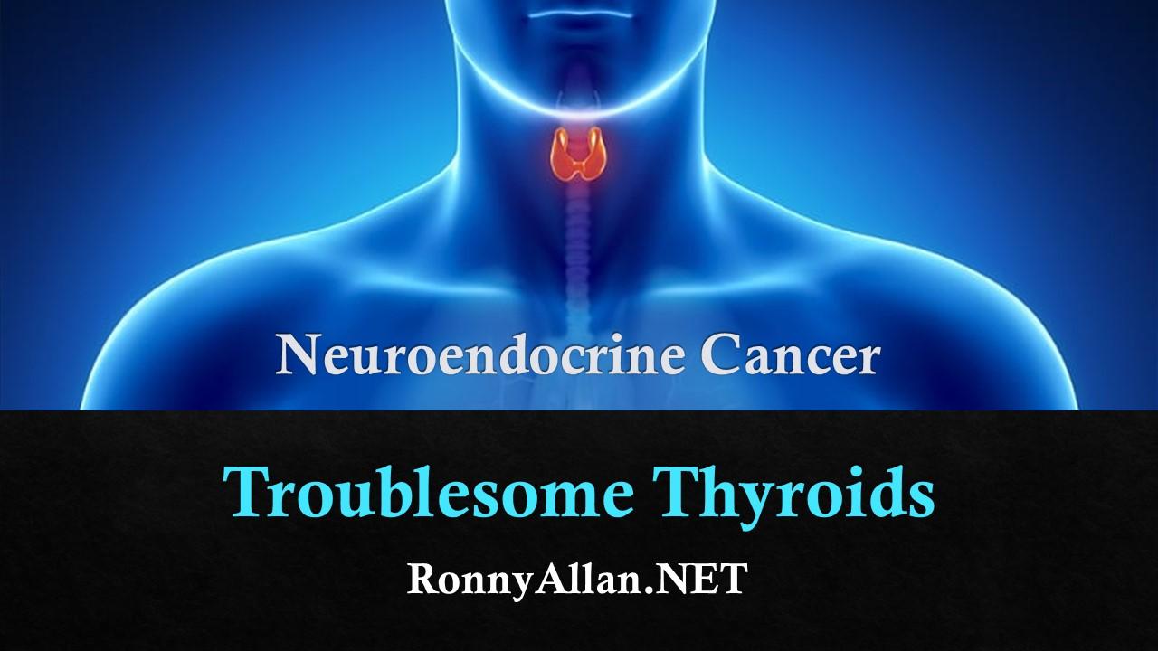 neuroendocrine cancer throat)