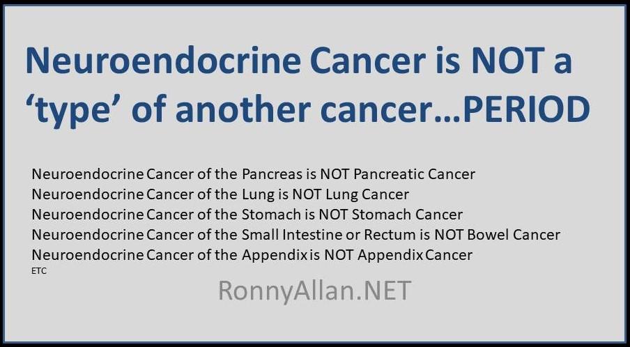 neuroendocrine cancer type
