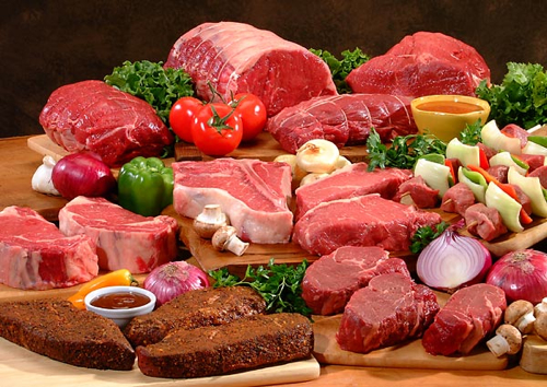 Colorectal cancer red meat