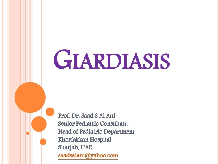 giardia virus mens