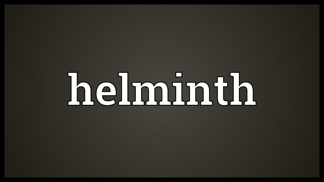 Parasitic helminths glycans