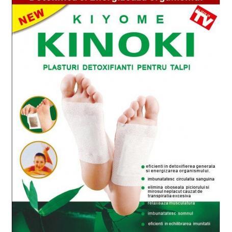 Kinoki plasturi pentru detoxifiere